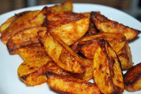 Kartoffelwedges schnelles abendessen for Schnelles abendessen