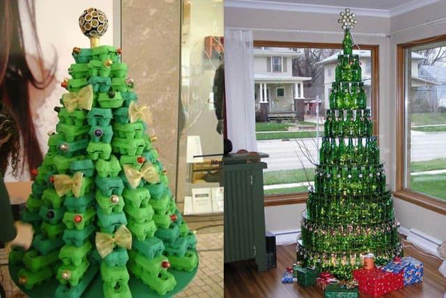 sch ne weihnachten und weihnachtsbaum ersatz ideen. Black Bedroom Furniture Sets. Home Design Ideas